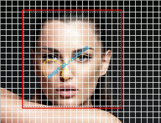 آموزش ایجاد افکت تخریب بلوکی صورت در فتوشاپ-4