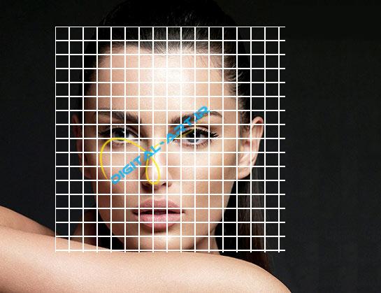 آموزش ایجاد افکت تخریب بلوکی صورت در فتوشاپ-5