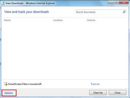 تغییر پوشه دانلود firefox و internet explorer - عکس 6
