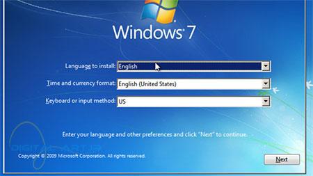 آموزش تصویری نصب ویندوز 7 - عکس سوم