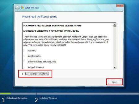 آموزش تصویری نصب ویندوز 7 - عکس پنجم