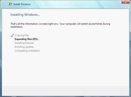 آموزش تصویری نصب ویندوز 7 - عکس نهم