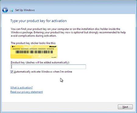 آموزش تصویری نصب ویندوز 7 - عکس دوازدهم