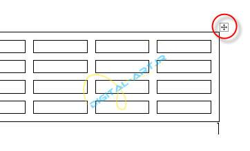 آموزش رسم جدول در ورد و تنظیمات آن-2013-2-20