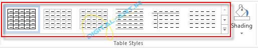 آموزش رسم جدول در ورد و تنظیمات آن-2013-2-6