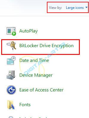 رمز گذاری روی درایو ها و حافظه های جانبی در ویندوز 7 - 08