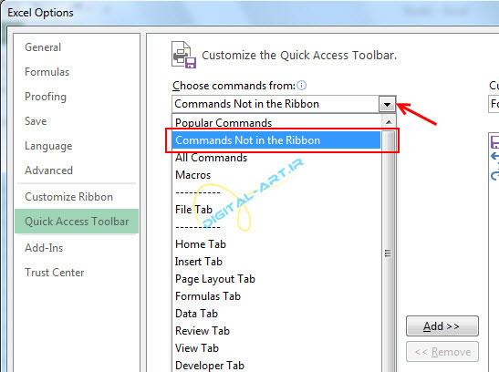 آموزش اضافه کردن ماشین حساب ویندوز به محیط اکسل-2013-3