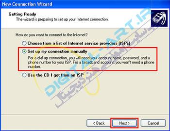آموزش ساخت کانکشن ADSL در ویندوز XP-07