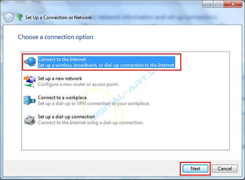 آموزش ساخت کانکشن ADSL در ویندوز 7 و 8 -05