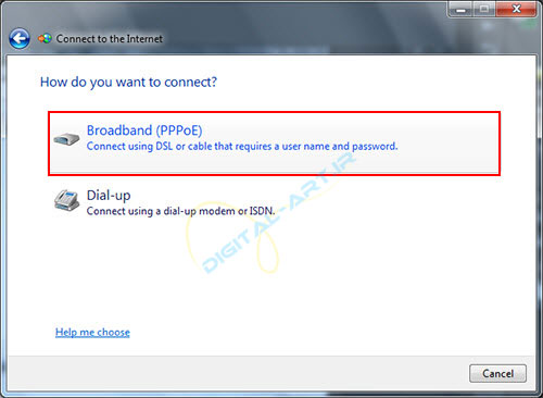 آموزش ساخت کانکشن ADSL در ویندوز 7 و 8 -07