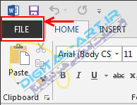 آموزش سفارشی سازی Quick Access Toolbar در آفیس 2007،2010 و 2013-2