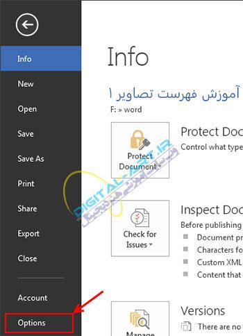 آموزش سفارشی سازی Quick Access Toolbar در آفیس 2007،2010 و 2013-3