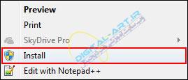 آموزش نصب فونت در ویندوز XP-7-8-04