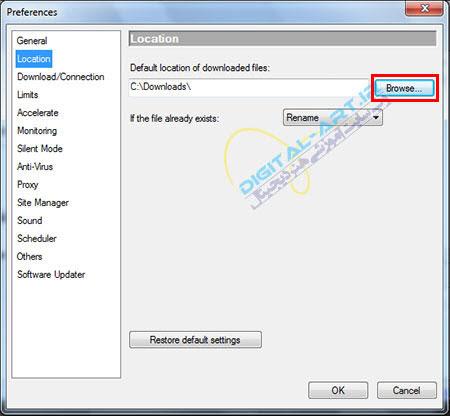 آموزش کامل نرم افزار Orbit downloader-قسمت دوم-04