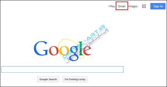 آموزش کار با سرویس Gmail-ساخت اکانت-1