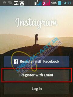 آموزش ثبت نام و عضویت در اینستاگرام-2