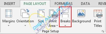 آموزش پرینت (چاپ) اطلاعات اکسل 2013 و تنظیمات آن-1