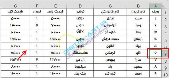 آموزش پرینت (چاپ) اطلاعات اکسل 2013 و تنظیمات آن-2