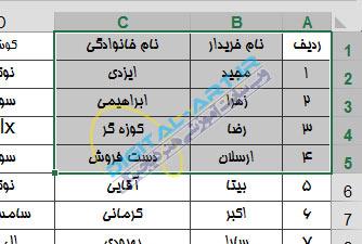 آموزش پرینت (چاپ) اطلاعات اکسل 2013 و تنظیمات آن-4