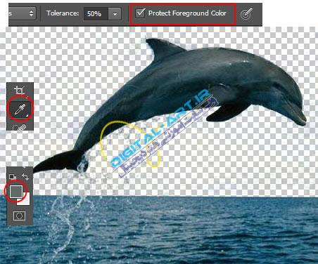 آموزش حذف بک گراند (زمینه) عکس در فتوشاپ-8