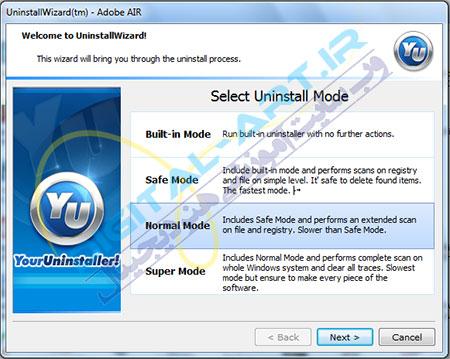 آموزش کامل نرم افزار Your Uninstaller Pro (حذف کامل نرم افزارها)-11