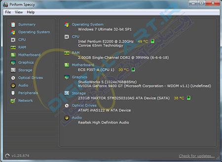 معرفی نرم افزار Speccy - مشاهده مشخصات کامپیوتر-01