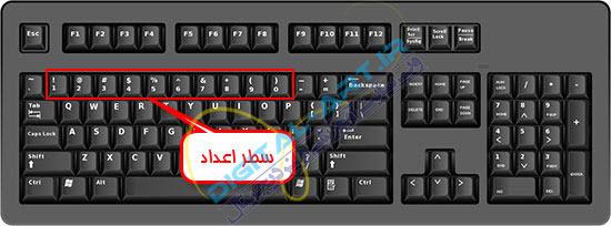 آموزش تایپ سریع و ده انگشتی فارسی و انگلیسی-گام دوم-2-3