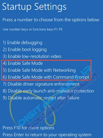 2 راه کاربردی برای فعال کردن حالت Safe mode در ویندوز 10 -10