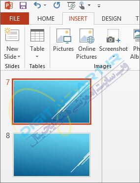 آموزش تغییر سایز و جهت قرارگیری اسلایدها در پاورپوینت-05