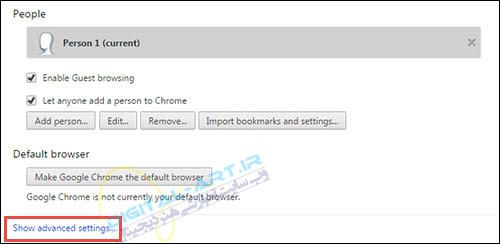 تغییر فولدر پیشفرض دانلود فایل ها در گوگل کروم -02