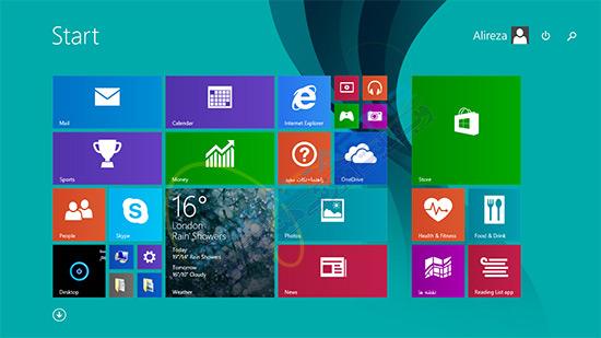 خاموش کردن حالت نمایش آنلاین اطلاعات در کاشی ویندوز 8 و 8-1--04