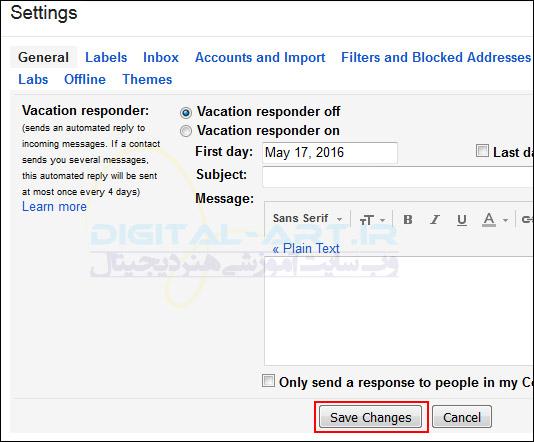 آموزش لغو ارسال ایمیل فرستاده شده در Gmail -03