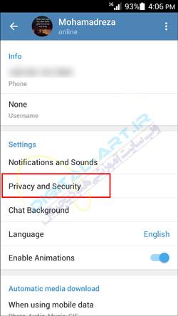 اطلاع از هک شدن و سو استفاده از حساب تلگرام - 02