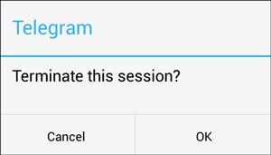 اطلاع از هک شدن و سو استفاده از حساب تلگرام - 05