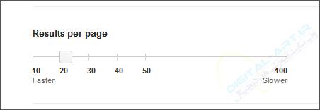 افزایش تعداد نمایش نتیجه های جستجو در گوگل -02