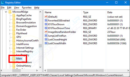 تغییر محل ذخیره دانلود فایل ها در مروگر Microsoft Edge -02