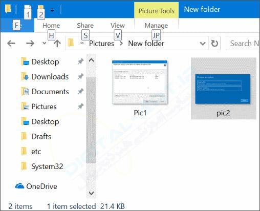 تبدیل عکس JPEG و PNG به فایل PDF در ویندوز 10 -01