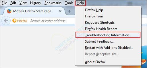 3 راه پیدا کردن محل ذخیره پروفایل موزیلا فایرفاکس -03