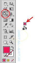 آموزش تبدیل و رنگ آمیزی اثر طراحی به وکتور-عکس 8