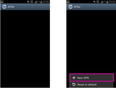 تنظیمات اینترنت و MMS گوشی های اندرویدی-عکس 4