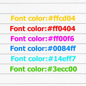 11 css for Table th font color css